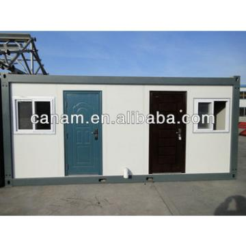 Low cost flat pack container coffee shop