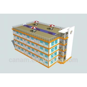 20ft ISO flat packed four storey prefab container office