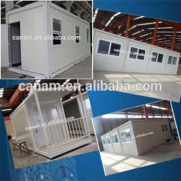 CANAM-portable modular cabin log cabin prefab house small