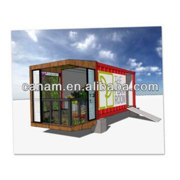 CANAM-Mini shop fast build cheap modular prefab container shop
