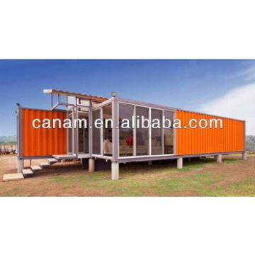 CANAM-modular shipping container house coffee shop home manufacturers