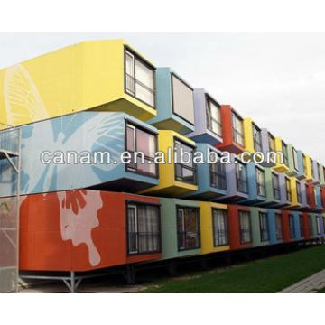CANAM-prefabricated modidied shipping container hotel