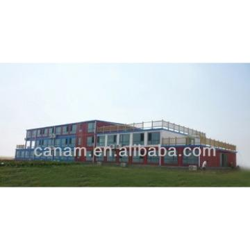 CANAM-new design steel section modern premade container house for sale