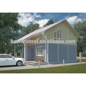 installation of prefabricated buildings