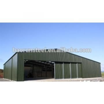 maintenance free steel metal warehouse buildings