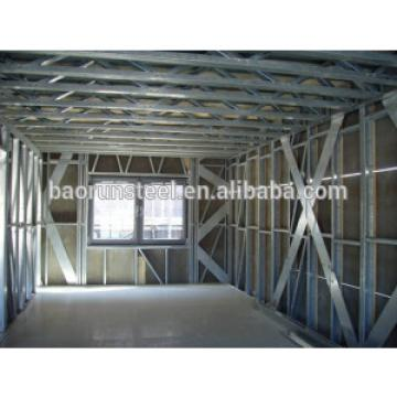 low cost custom pre-engineered steel warehouse building
