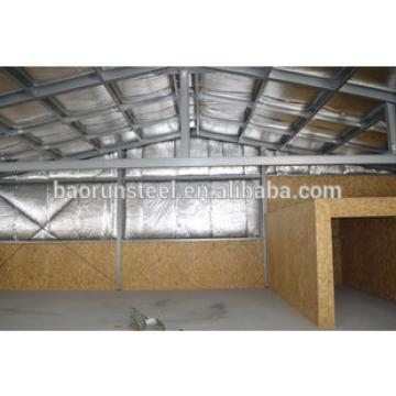 Energy efficiency prefab warehouse building