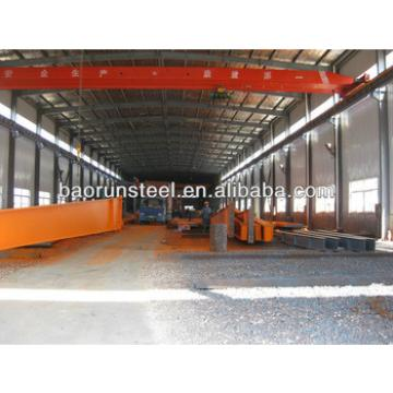 prefabricated space frame steel structure workshop supplier