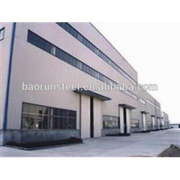 strong steel structure Building Built with prefab wall panels