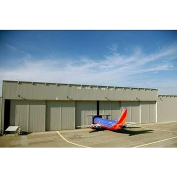 steel strcuture prefabricated aircraft hangar