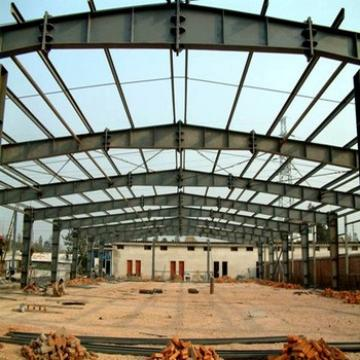 Galvanized prefabricated industrial builidng steel structure