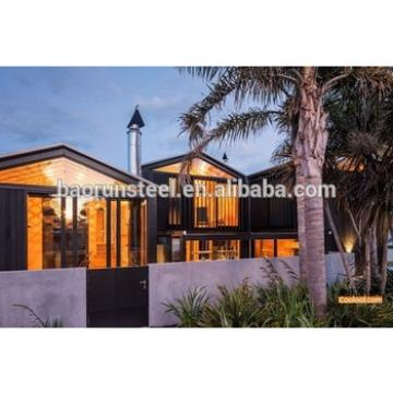 prefabricated light steel structure luxury prefabricated designs