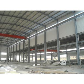 steel structure with galvanized volumes & wide galvanized steel