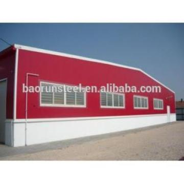 Baorun qualified construction of steel structure project for workshop