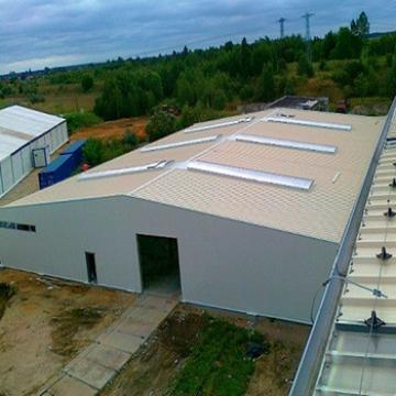 Prefab steel structure factory frame warehouse workshop shed building