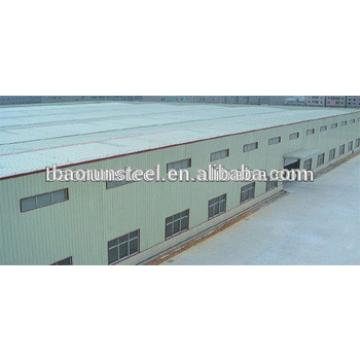 easy installation steel structure warehouse