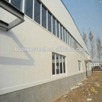 ISO & CE wide span light frame steel structure pipe rack prefabricated house
