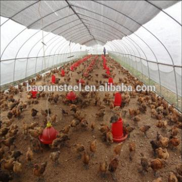 2015 New design steel structure chicken house