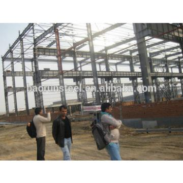 2015 BaoRun China construction desing steel structure warehouse On Alibaba