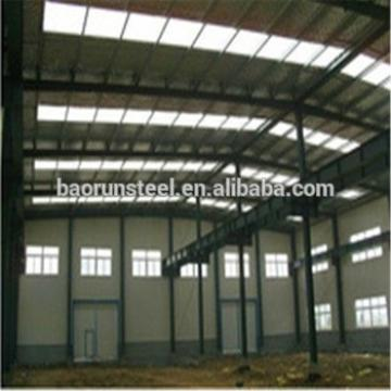 High quality modular panelized prefabricated light steel structure building warehouse