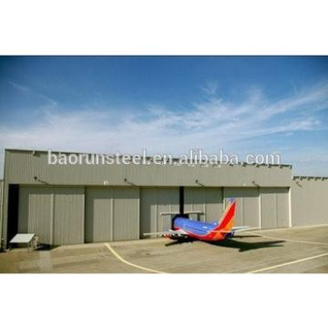 steel structure prefabricated aircrafe hangar made in China