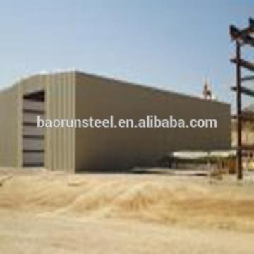 Hot Sale Steel Structure Pre-fab power workshop with Internation Building Standard