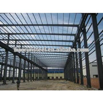large span light weight steel structure building manufacturer