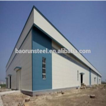 Construction design steel structure warehouse /machines in car workshop