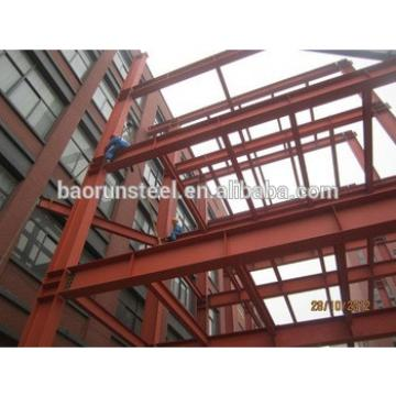 Heavy duty steel structure mezzanine floor systems