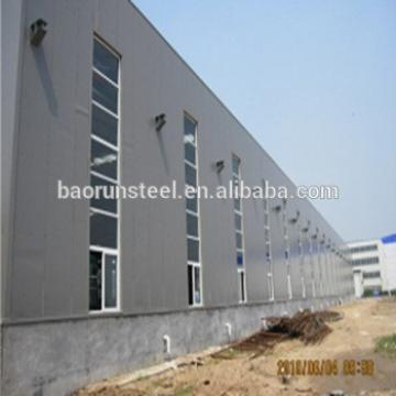 Low Cost Steel Structure Prefabricated Industrial Shed Design