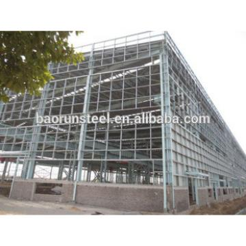 Galvanized prefabricated Industrial Building steel structure