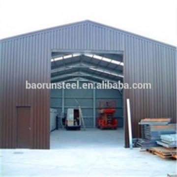 Horses/cow/chicken house design galvanized steel structure