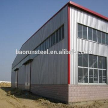 Prefabricated metal steel structure storage rent warehouse