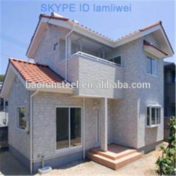 Concrete sandwich panel prefabricated villa for affordable homes