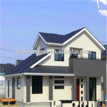 Prefab modern China prefabricated villa for sale