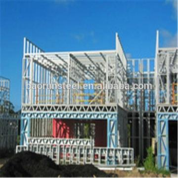 Prefabricated light steel villa with Russia styles