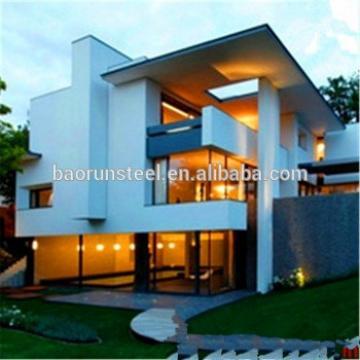 Custom made layout prefabricated villa /light steel frame house