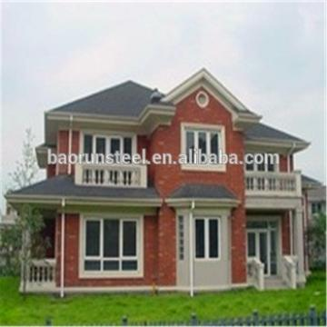 Light steel structure prefabricated cheap villa