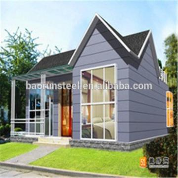 China luxury Prefabricated Villa prices low cost prefab light steel villa for sale