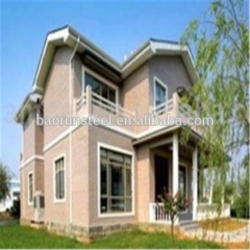 Customer economical fireproof and waterproof prefabricated villa
