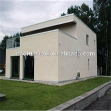 China manufacturer structural steel fabrication prefabricated prefab villa