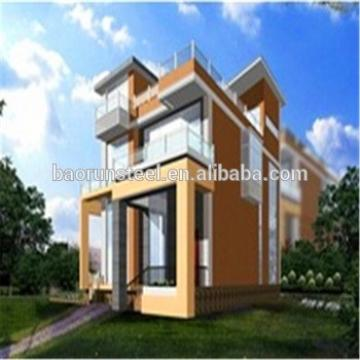 Economic light gauge steel(LGS) prefabricated villa / steel structure villa / prefabricated house