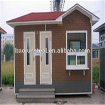 Light steel structure luxury prefab house building prefabricated villa