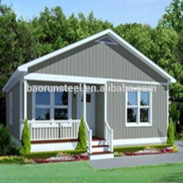 China prefabricated homes/small mobile modular homes villa/ steel frame modern prefab kit