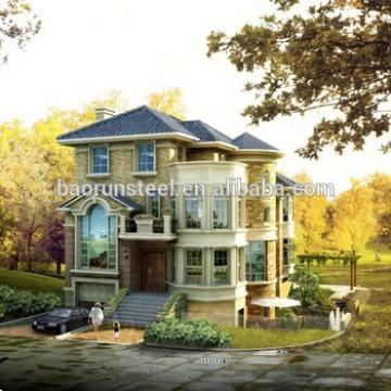 China prefabricated luxury villa