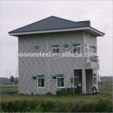 prefabricat steel rural houses