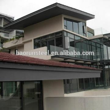 new design light steel structure villa house in alibaba