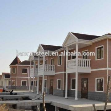 villa prefab house complete in alibaba