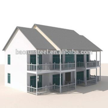 light steel structure beautiful villa house in alibaba