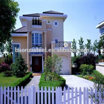 china prefabricated kit house villa in alibaba